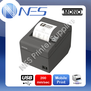 Epson TM-T82II-I Intelligent POS Ethernet Thermal Receipt Printer [P/N:C31CD52345]